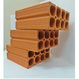 bloco de cerâmica 6 furos Paranapanema