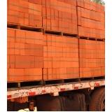 empresa de tijolo baiano carga fechada Paranapanema