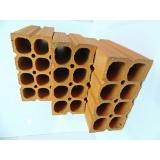 orçamento de bloco de cerâmica 6 furos Paranapanema