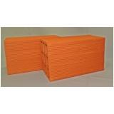orçamento de bloco de cerâmica de 6 furos para vedação Buri