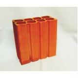 quanto custa bloco de cerâmica de 6 furos para vedação Itapetininga