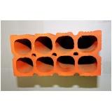 tijolo cerâmico de encaixe Itapetininga