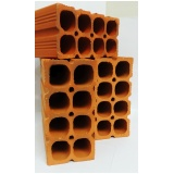 tijolo de cerâmica 8 furos Sorocaba