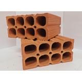 tijolo de cerâmica 9 furos Itapetininga