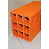 venda de tijolo de cerâmica 8 furos Itapetininga