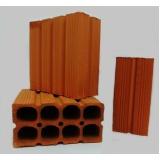 venda de tijolo de cerâmica 9 furos Itapetininga