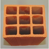 venda de tijolos para vedação 8 furos Paranapanema